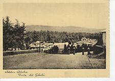 52776 CARTOLINA 1940 ETIOPIA ETHIOPIA ADDIS ABEBA DAL GHEBI COLONIE COLONIES