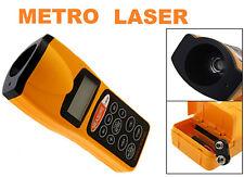 Misuratore distanza ultrasuoni, metro puntatore distanziometro laser,area,volume