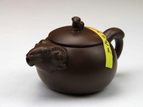 Schaf Teekanne Chinesisches Horoskop Tierkreiszeichen Tierzeichen Yixing Ton