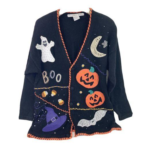 Vintage Victoria Jones Ugly Halloween Sweater Pump