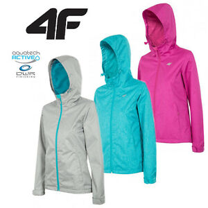 trekking KUD001 Aquatech Jacket Coat Womens urban NEW WATERPROOF 4F wnqHxqC