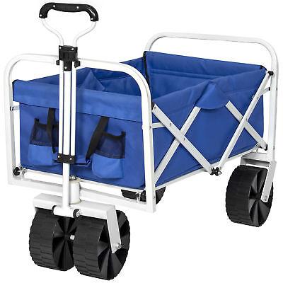 Blue//Gray BCP Folding Utility Beach Cart