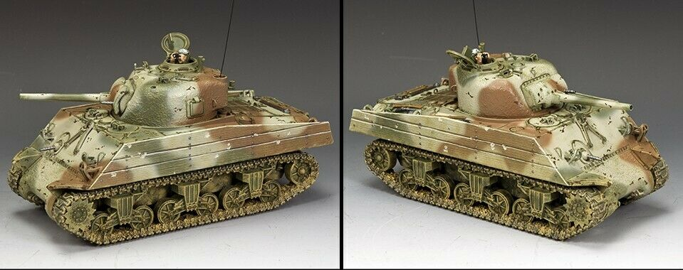 KING AND COUNTRY - - - The U.S.M.C. Pacific Sherman WW2 USMC053 ccc