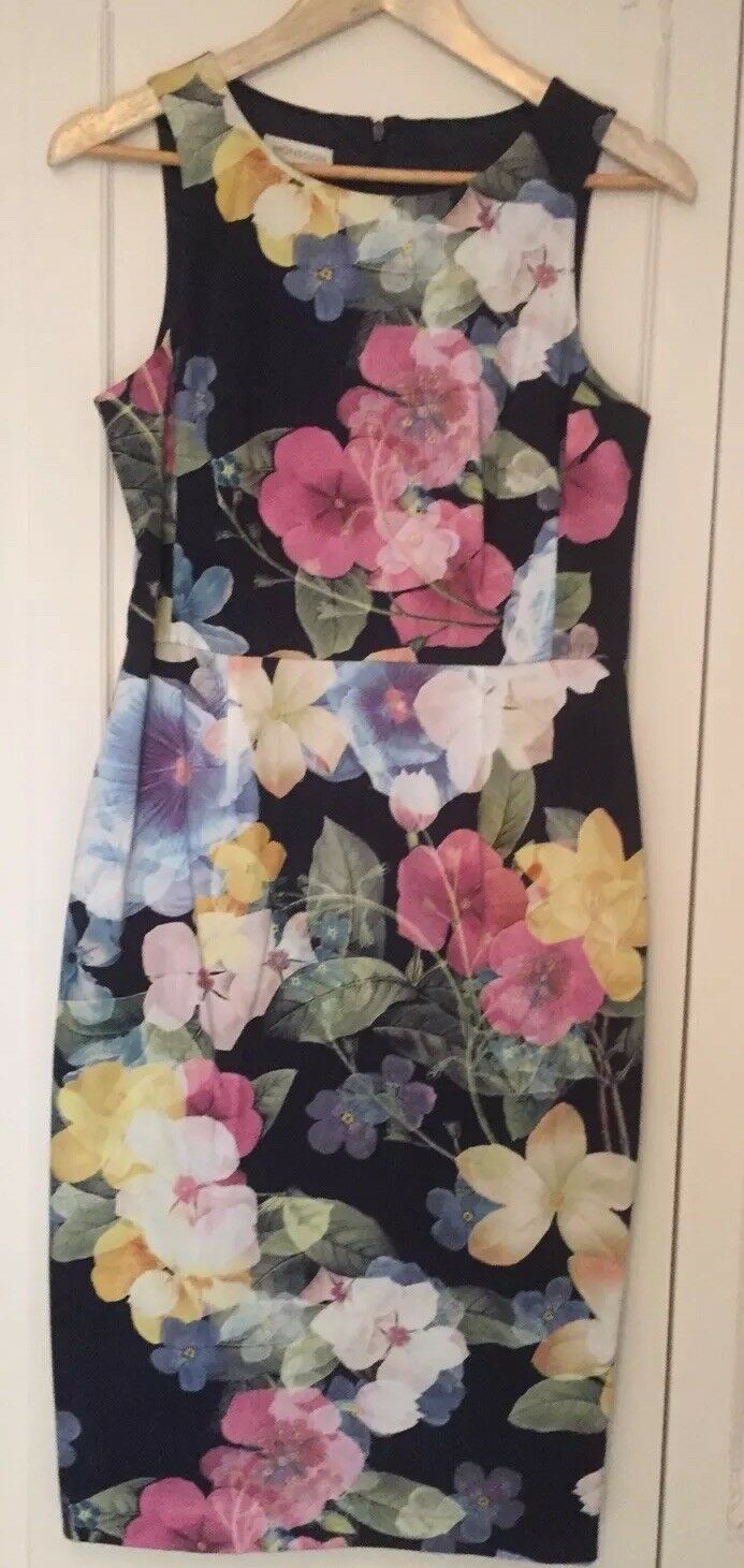 Ladies Monsoon 'Camilla' Shift Dress - Size