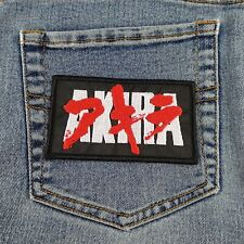 """Application Tongue 3.2/"""" Logo Sew Ironed On Badge Embroidery Applique Patch G8A1"""