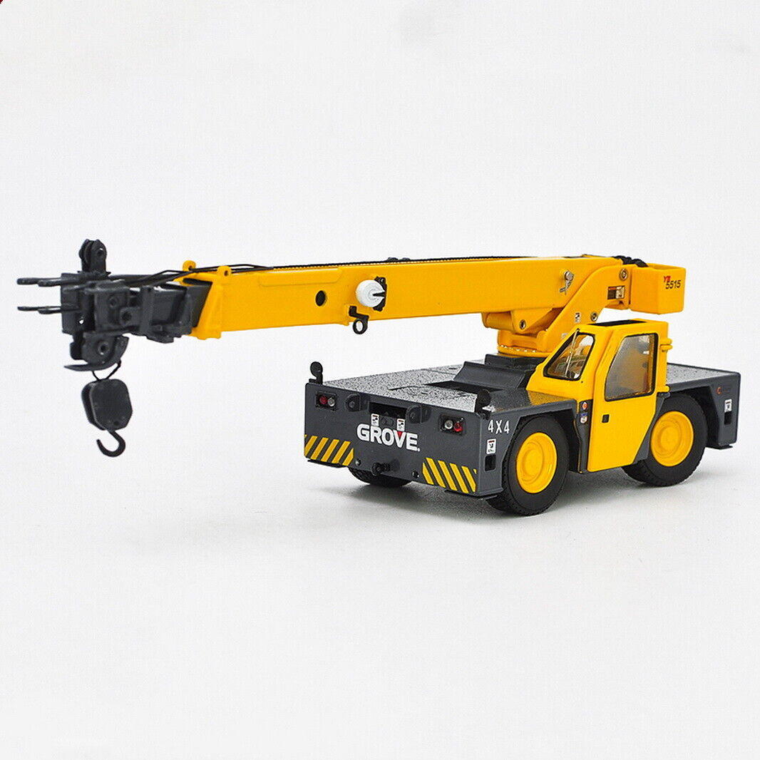 TWH 1 50 Grove YB5515 Industrial Yard Crane DieCast Model Toy Collection