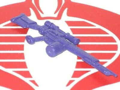 GI Joe Weapon Street Fighter II Guile Rifle Gun 1993 Original Figure Accessory