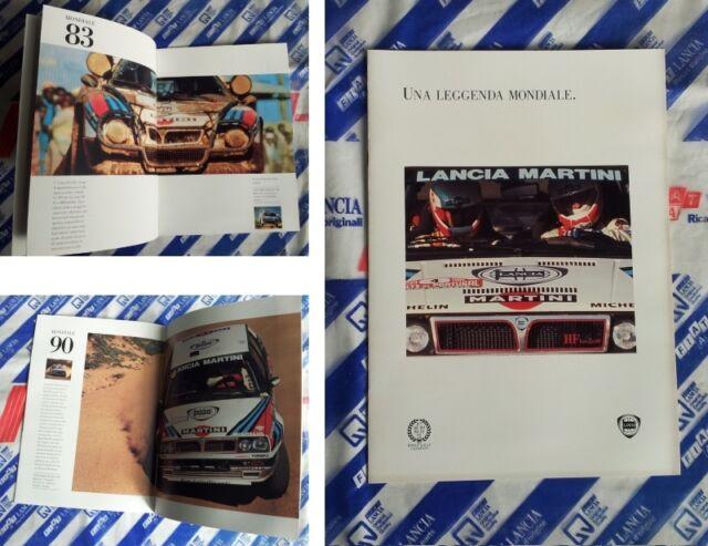 Depliant Originale Lancia Delta Integrale Una Leggenda Mondiale 20 Pag 34x24 cm