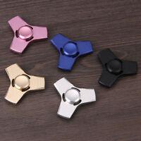 100 Pcs Us Aluminum Hand Spinner Tri Fidget Finger Fingertip Gyro Desk Toy Edc