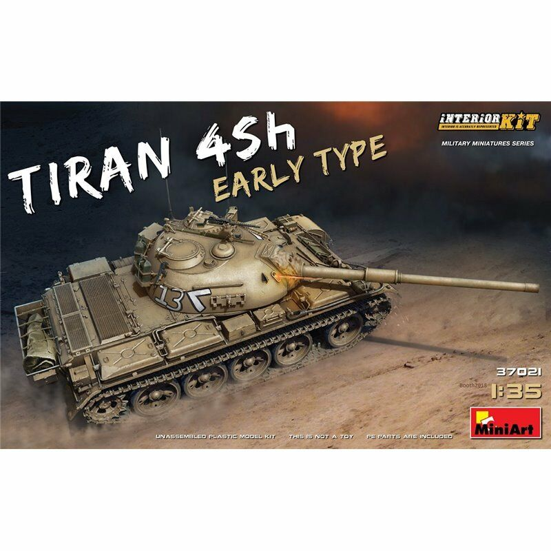 Miniart 37021 1 35th scale Tiran 4Sh Early Type with Interior Kit