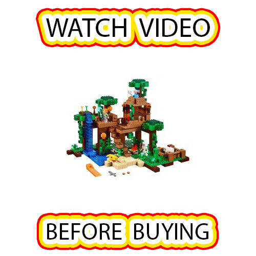 Lego The Jungle Tree House Set [itm4] 21125 Minecraft Minecraft Minecraft 44741e