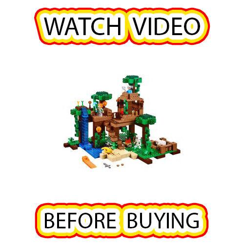 Lego Lego Lego The Jungle Tree House Set [itm4] 21125 Minecraft e2f7b7