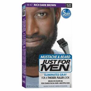 Just for Men Mustache & Beard Color Rich Dark Brown M47