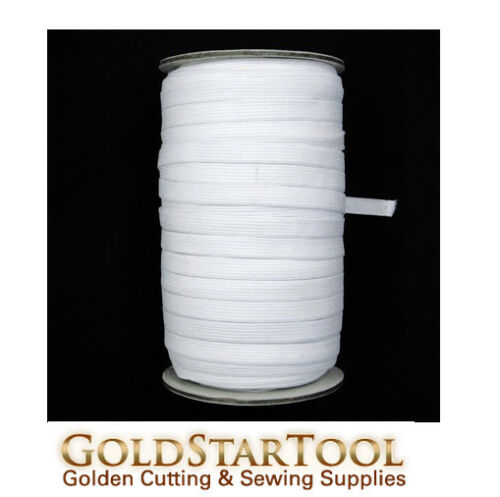 """white Knitted Elastic Roll 3//8/"""" Inch Width 144 Yards perfect for sewing /& craft"""