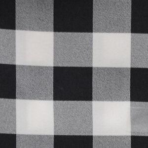 Image Is Loading Black Amp White Checkered Table Runner 13 034