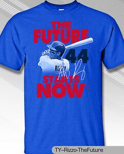 Image is loading ANTHONY-RIZZO-CHICAGO-CUBS-FUTURE-IS-NOW-Shirt- 180294a29