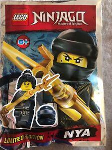 Lego Ninjago Edición limitada Bolsa de lámina Sawyer Minifigura LEGO Juegos de construcción