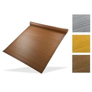 7-80-1m-Sichtschutzmatte-500x90-500x180cm-grau-bambus-braun-Balkon-Garten-Bli