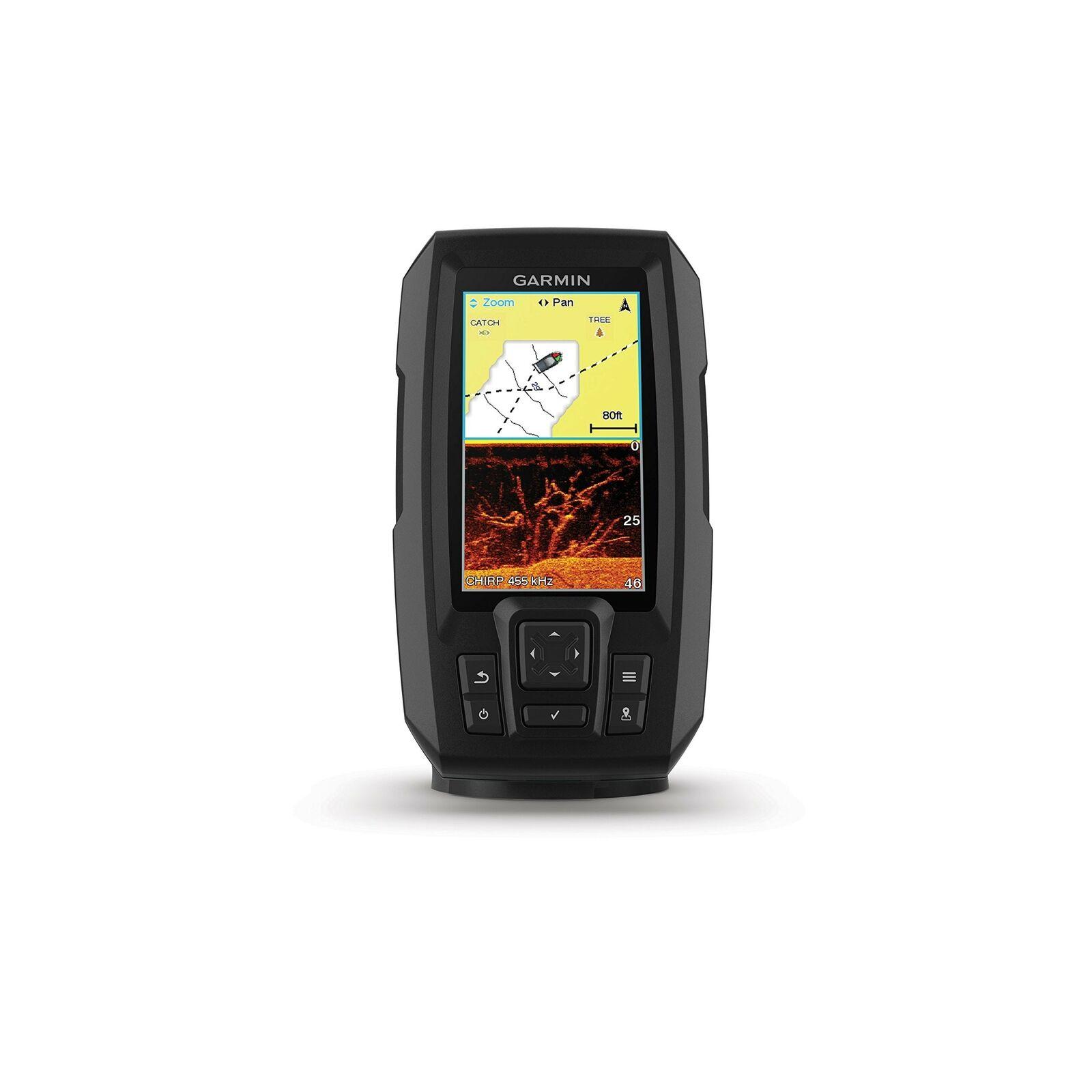 Brand New Garmin Striker Plus 4Cv with Cv20-TM transducer, 010-01871-00