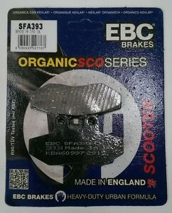 Piaggio MP3 500 2009 to 2013 2 Sets SFA260 EBC Organic FRONT Disc Brake Pads