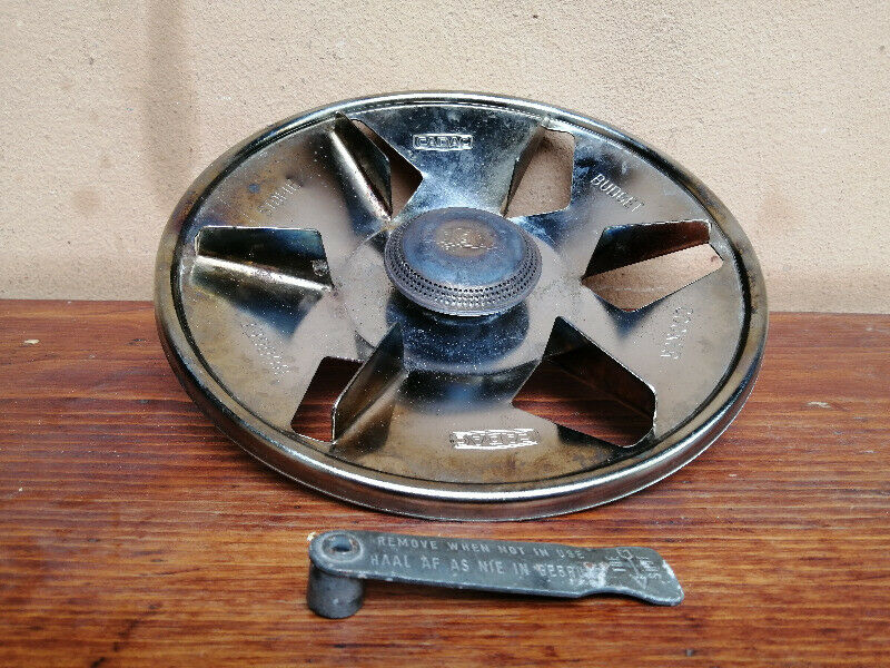 Gas bottle cooker plate.