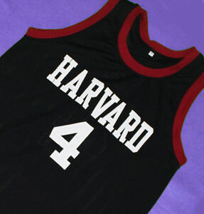 JEREMY-LIN-4-HARVARD-JERSEY-BLACK-SEWN-NEW-ANY-SIZE