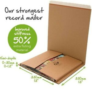 80-x-Lil-BUKWRAP-CLP-12-034-LP-Record-Book-Photo-Mailers-variable-capacity-strong