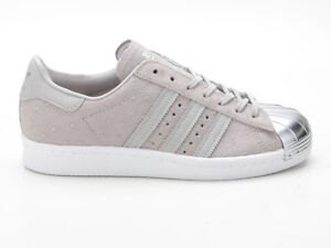 new product 0d835 d86a7 Details zu Adidas Superstar 80s Metal Toe W S76711 grau-silber