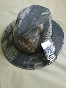 Safari Hat Medium Realtree Hardwoods Camo Made In Usa