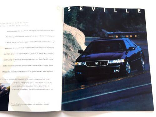 2001 Cadillac 32-page Sales Brochure Catalog Catera Eldorado Seville Deville