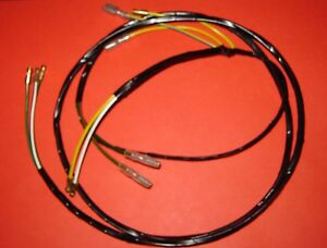 mgb mgc gear box wiring loom harness link lead overdrive reverse