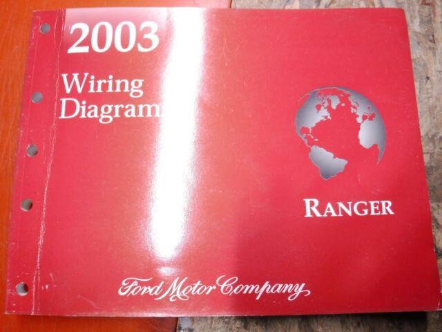 2003 Ford Ranger Original Factory Wiring Diagrams Manual
