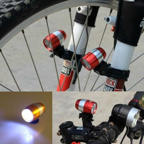 Front Head Light Warning Lamp Safety Professional 6 LED Mini Cycling Bicycle