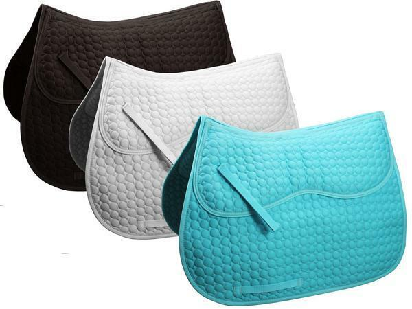 Derby Originals Comfort All Purpose English Saddle Pad w Removable Memory Foam