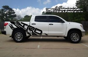 515f7f71 TRD RIPPED-Bed Graphics-Vinyl Decal Sets for Toyota, Trucks, Custom ...