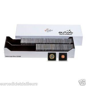 Box-Intercept-Q-100-pour-100-capsules-Quadrum-ou-300-etuis-HB-LEUCHTTURM-Neuf