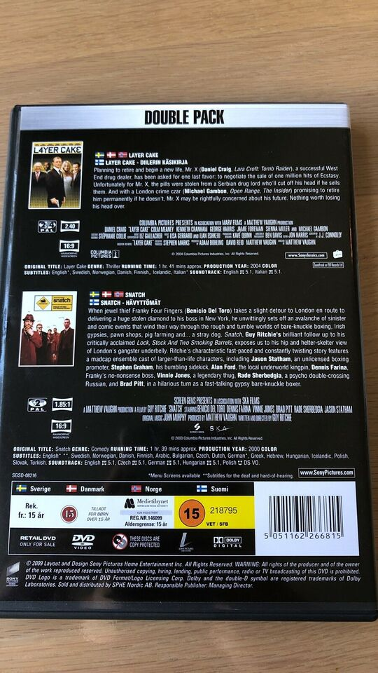 Layer Cake, DVD, thriller