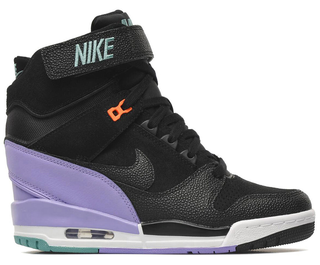 NIKE AIR REVOLUTION SKY HI noir/ATOMIC VIOLET Gr.38-40 lib 599410-005 dunk sp