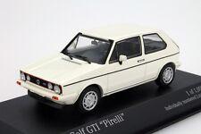 VW GOLF GTI Minichamps 1:43 Car Model Die Cast Models Cars Diecast Metal White