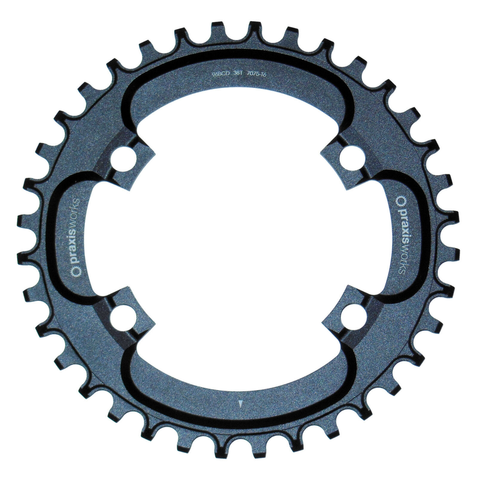 New Praxis Works Narrow Wide 36T Single  MTB Chainring 96 BCD Shimano 1x 10 11  save 50%-75%off