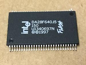 (1 PC)  INTEL   DA28F640J5-150   NOR Flash, 4M x 16, 56 Pin, Plastic, SOP