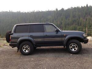 1990 Toyota Land Cruiser HDJ 81