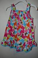 Sweet Girls Toddler Summer Dress Size 2t Or 18m Butterflys