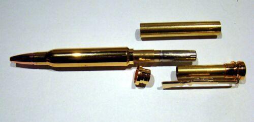 Bullet Gewehr Clip Kugelschreiber Jäger Goldoptik Bausatz 807