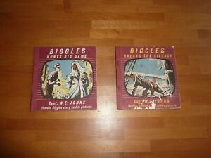BIGGLES-HUNTS-BIG-GAME-AND-BIGGLES-BREAKS-THE-SILENCE-POCKET-BOOKS