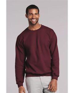 Medium-Maroon-Jerzees-Cotton-Crewneck-Sweatshirt