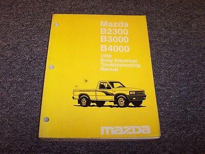 1996 mazda b2300 b3000 b4000 truck body electrical wiring diagram ...  ebay