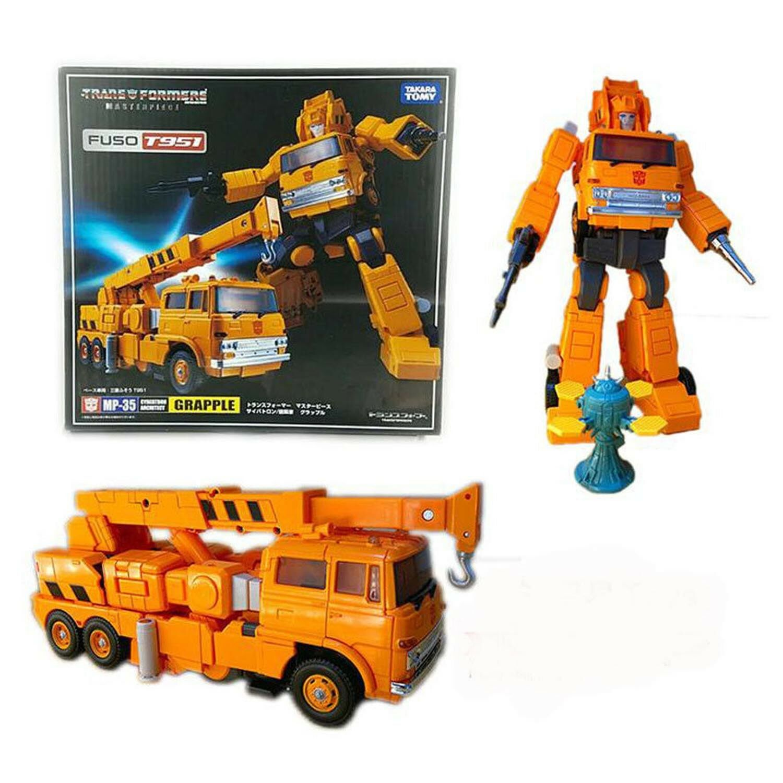 Transformers Masterpiece MP-35 MP35 GRAPPLE Carbots Action Figure Best Geschenk