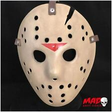 Deluxe Jason Hockey Mask Part 6 Replica Friday 13th Horror Film Collectible