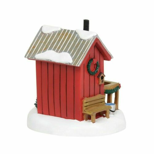 Department 56 General Village New 2019 LIT VILLAGE OUTHOUSE 6003180 Out House